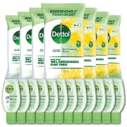 8 Packs Multi Surface Cleaning Wipes + 12 Hand Gels