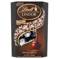 Lindt Lindor 60% Dark Chocolate Truffles Carton 200G