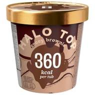 Halo Top Gooey Brownie Ice Cream 473ml