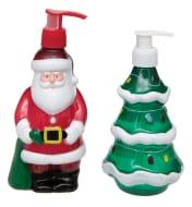 Technic Novelty Santa and Christmas Tree Festive Hand Duo Set