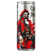 Captain Morgan Spiced Rum & Cola Ready to Drink Premix Can, 12 X 250ml