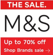 M&S Brands Sale - NOW up to 70% off Brands