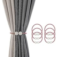 SZFY 6 Pack Magnetic Curtain Tiebacks Drapery Holdbacks - Only £3.99!