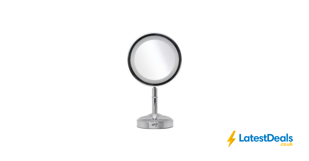No7 Illuminated Makeup Mirror Exclusive To Boots 163 24 99