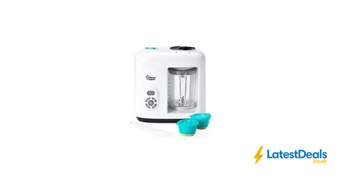 Tommee Tippee Baby Food Steamer Blender 4999 At Amazon