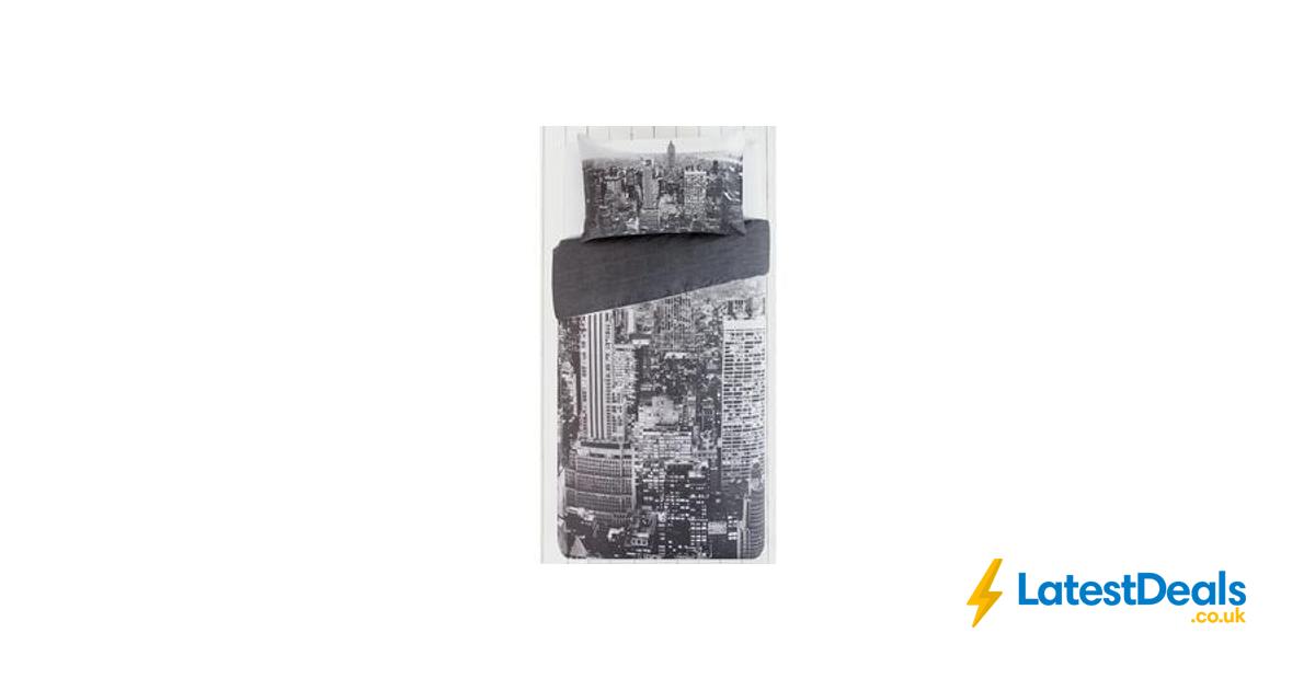 Salt Lamps Lidl : HOME New York Skyline Bedding Set - Single free C+C, ?5.99 at Argos LatestDeals.co.uk