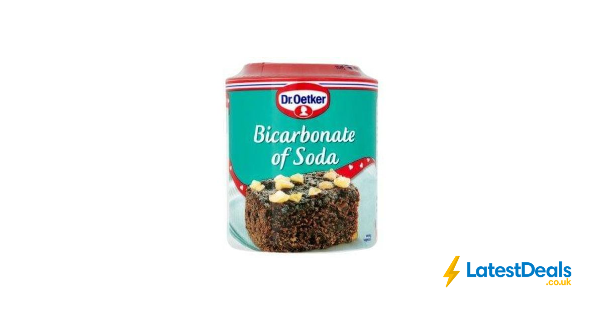 Dr Oetker Bicarbonate Of Soda 200g At Iceland