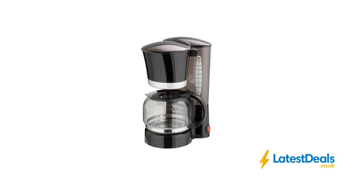 Cookworks Filter Coffee Maker, £11.49 at Argos ...