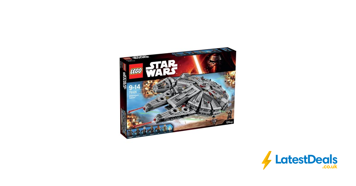 lego star wars the force awakens millennium falcon 75105. Black Bedroom Furniture Sets. Home Design Ideas