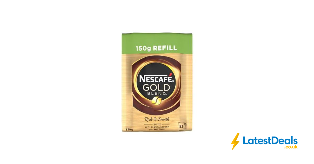 Nescafé Gold Blend Instant Coffee Refill 150g 3 At Iceland