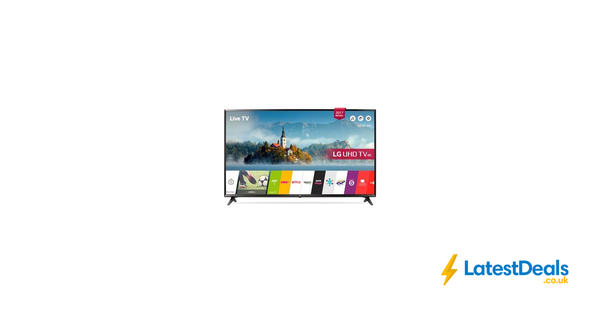 lg 49uj630v 49inch 4k ultrahd hdr smart led tv 449 at the co operative electrical shop. Black Bedroom Furniture Sets. Home Design Ideas
