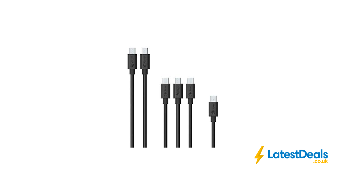 6 micro usb cables for 39p delivered    u00a30 39 at amazon