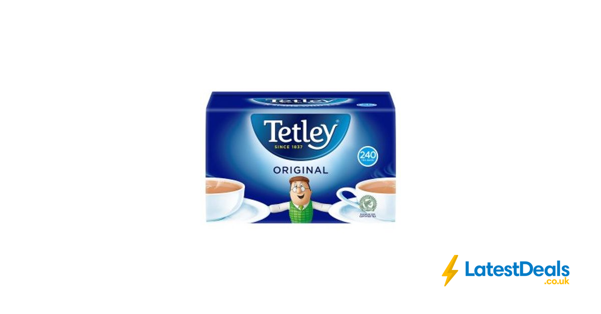 tetley original tea bags 240pk 3 at asda. Black Bedroom Furniture Sets. Home Design Ideas