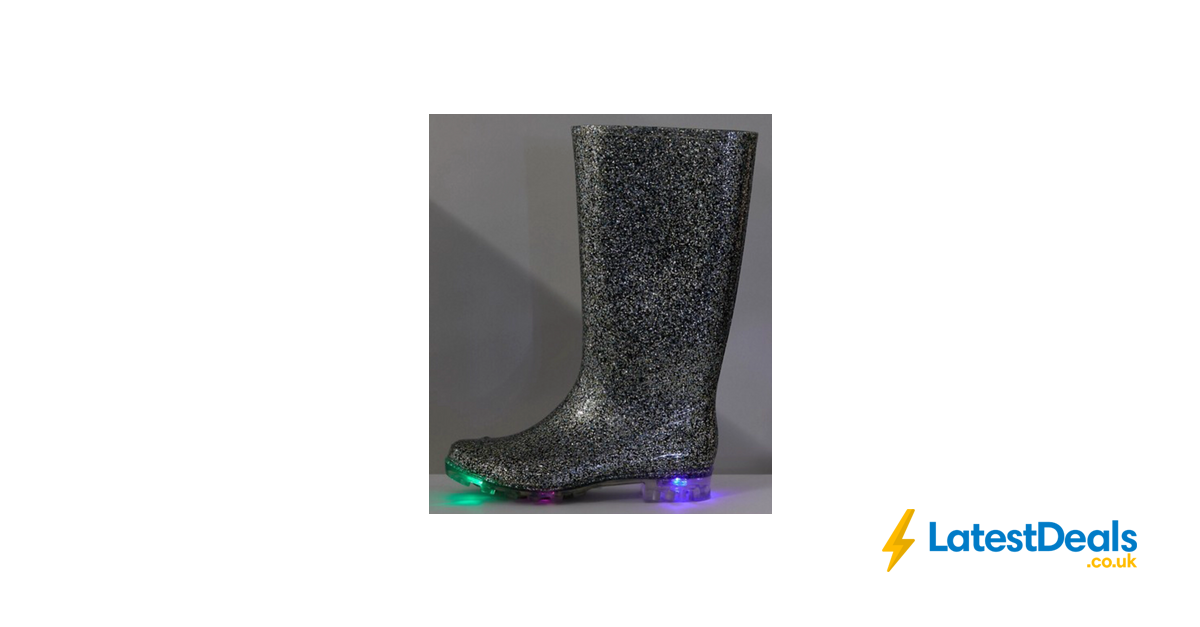 faee72158ee5 ASOS Glow - Glitter Light up Wellies - Free Delivery, £22 |  LatestDeals.co.uk