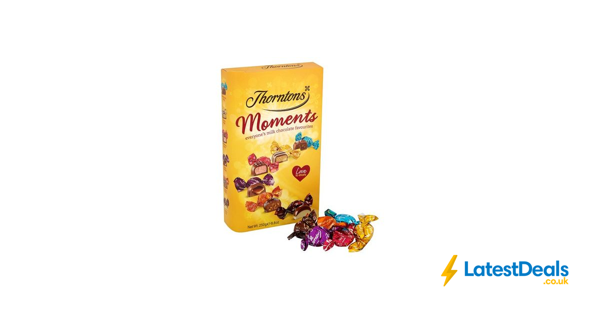 Thorntons Moments 250g 12 Price At Tesco 2