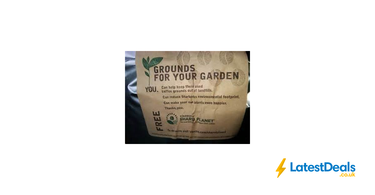 Free Coffee Grounds At Starbucks For Your Garden And Compost Bin