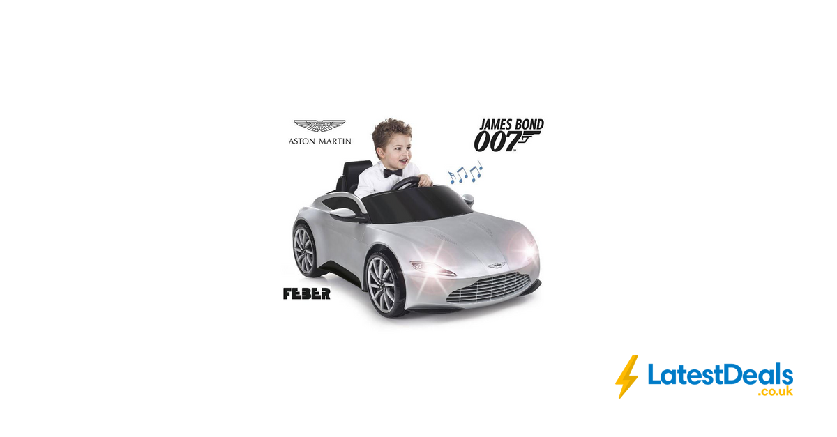 Feber Aston Martin With App Controlled Remote Control 99 At Sports Direct Latestdeals Co Uk