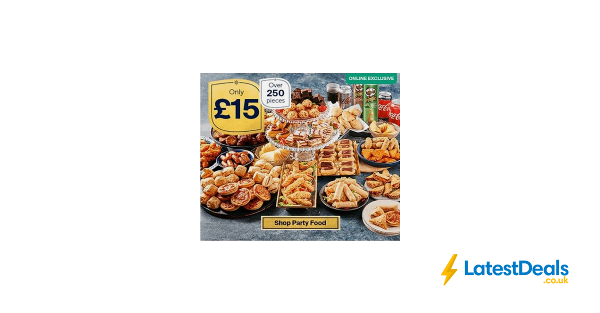 Iceland Party Food 15 Offer Over 250 Pieces For Christmas
