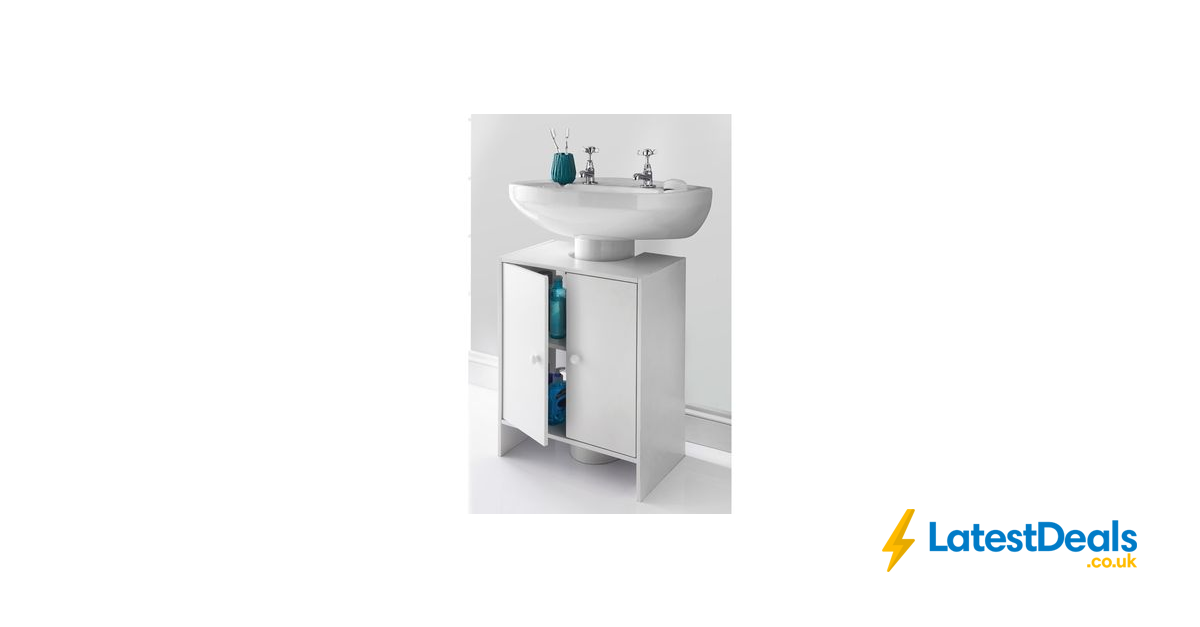 Picture of: Spaceways Undersink Cabinet White 14 99 At B M Latestdeals Co Uk