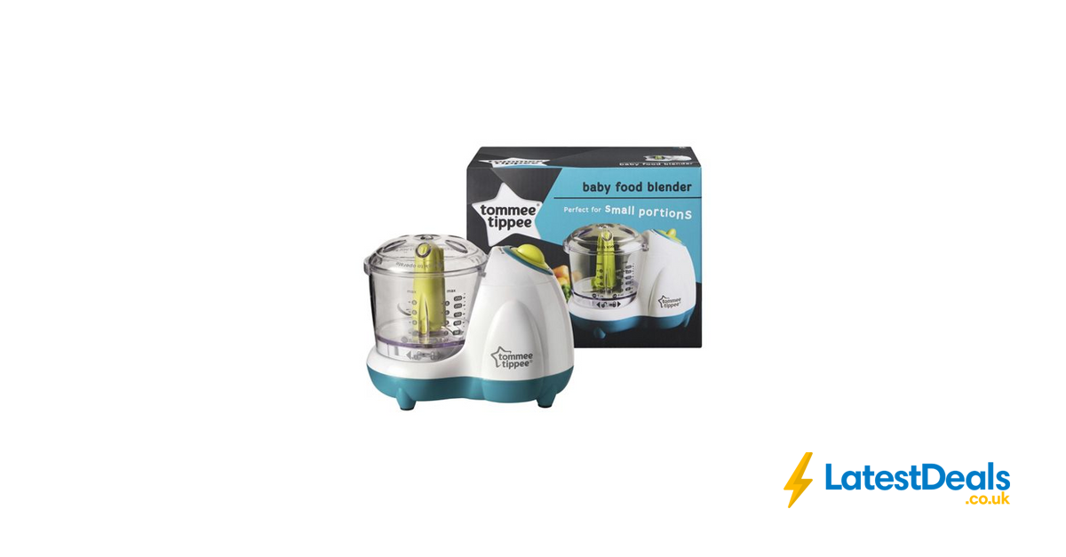 Tommee Tippee Explora Baby Food Blender 12 Off 10 At