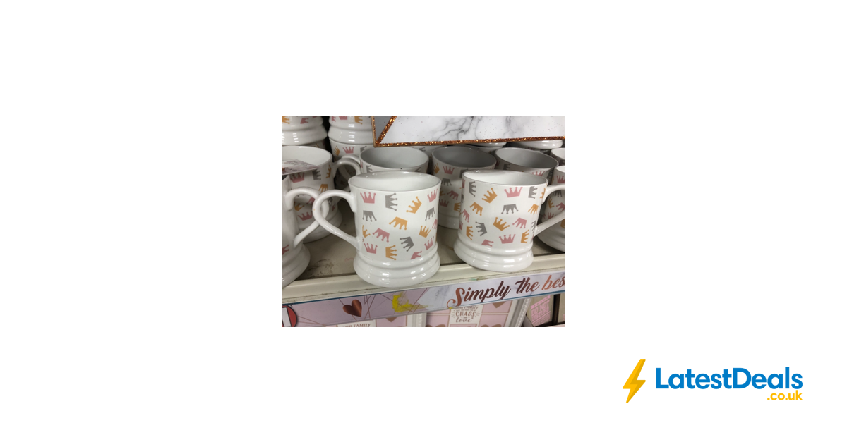 Poundland Mothers Day Mugs 1 Latestdealscouk