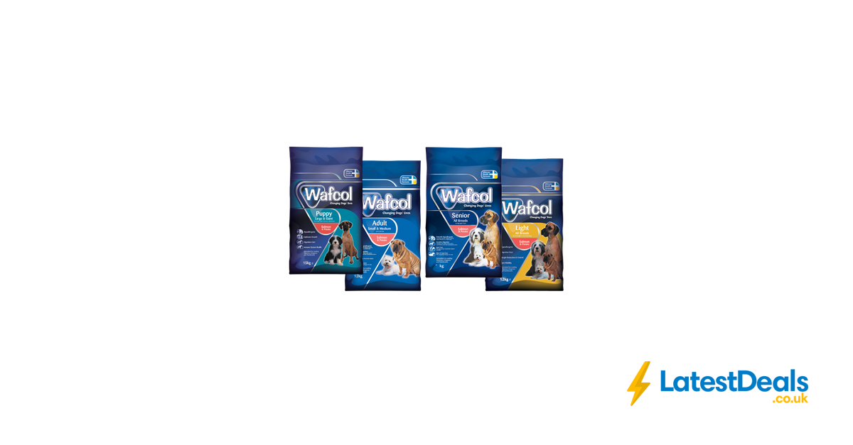 Free Wafcol Dog Food Sample Latestdealscouk