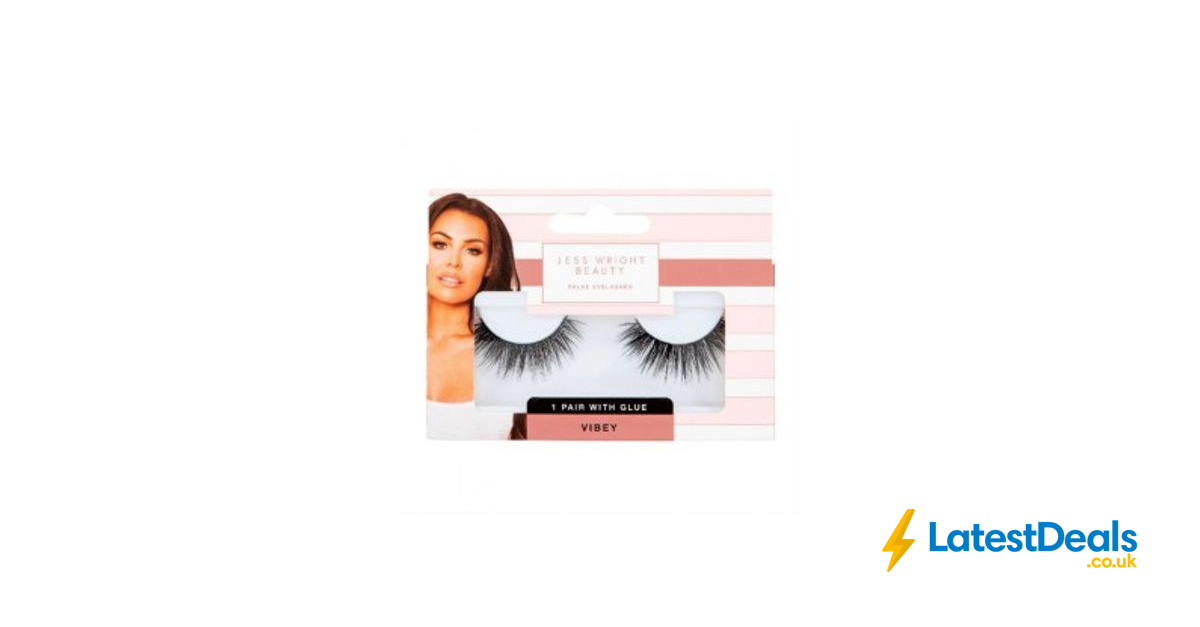 Jess Wright Vibey False Lashes With Glue 1 At Poundland Latestdeals Co Uk