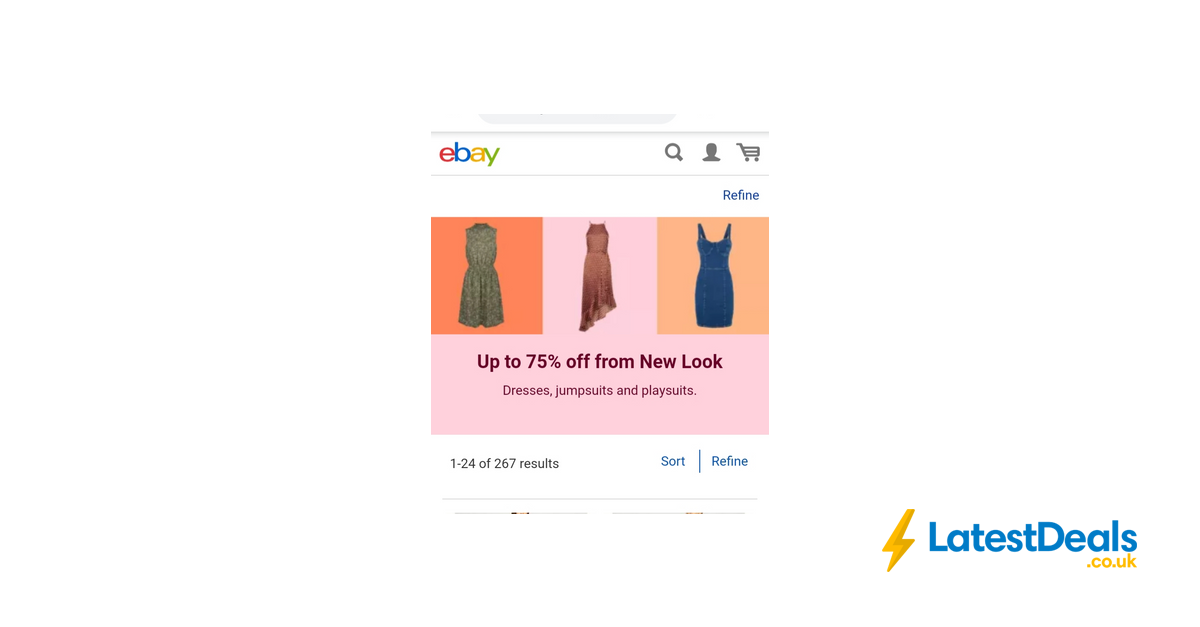 popular design the best attitude skilful manufacture Up to 75% off from New Look on Ebay.Dresses, Jumpsuits + ...