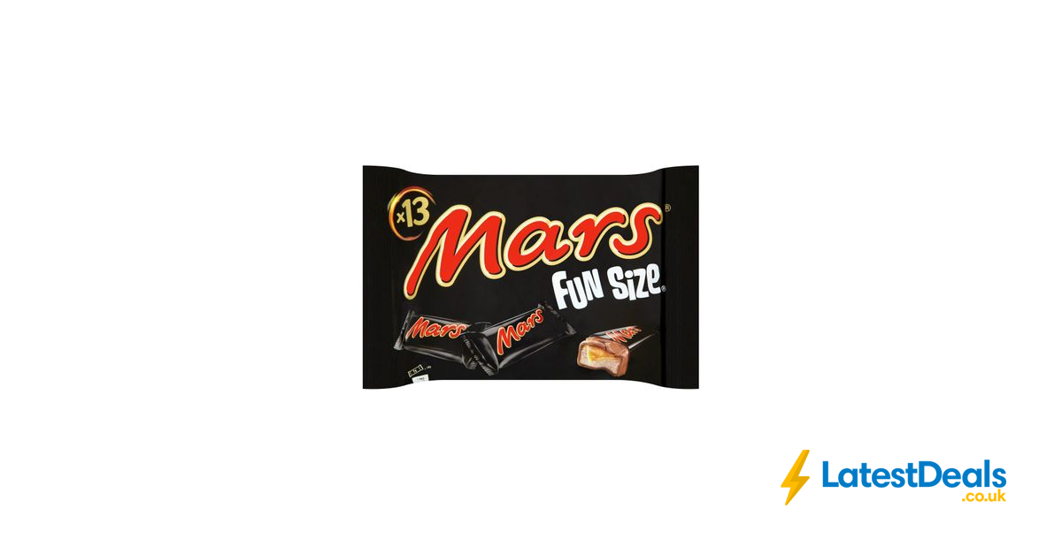 Mars Fun Size 13 Pack 250g For 150 At Tesco Latestdeals