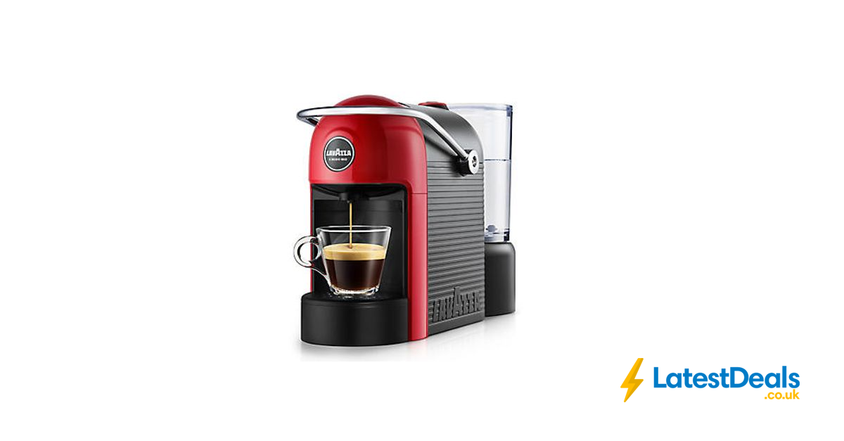 Lavazza Joilie Coffee Machine In Red With Free Pod Voucher