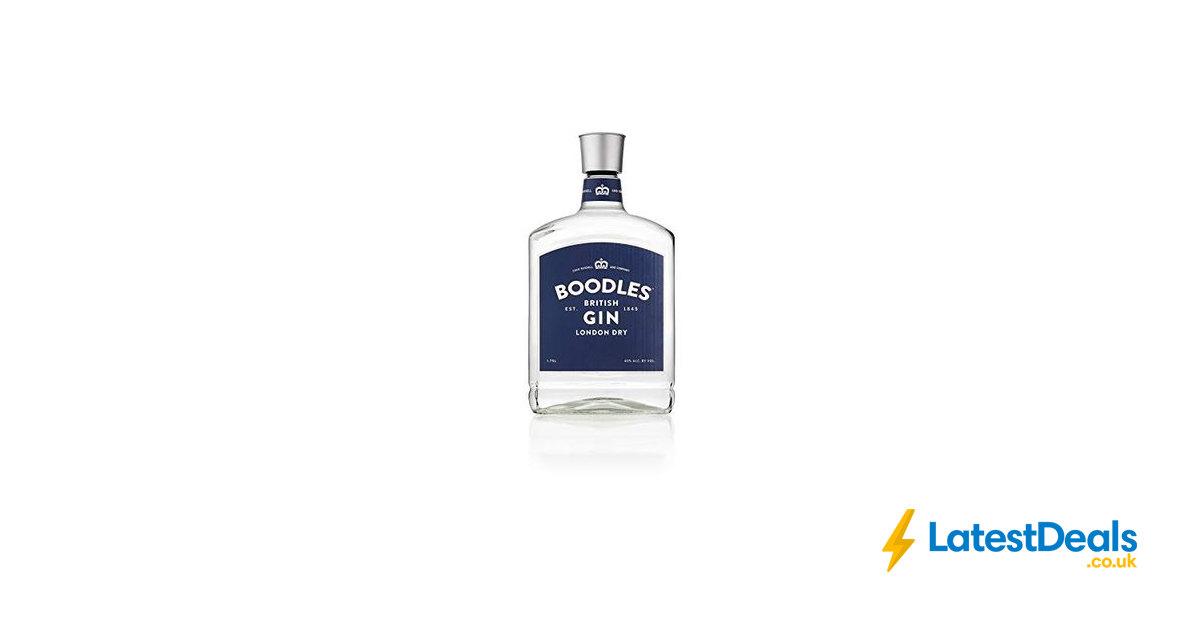 Boodles Gin 175 Litre Save 25 3814 At Amazon