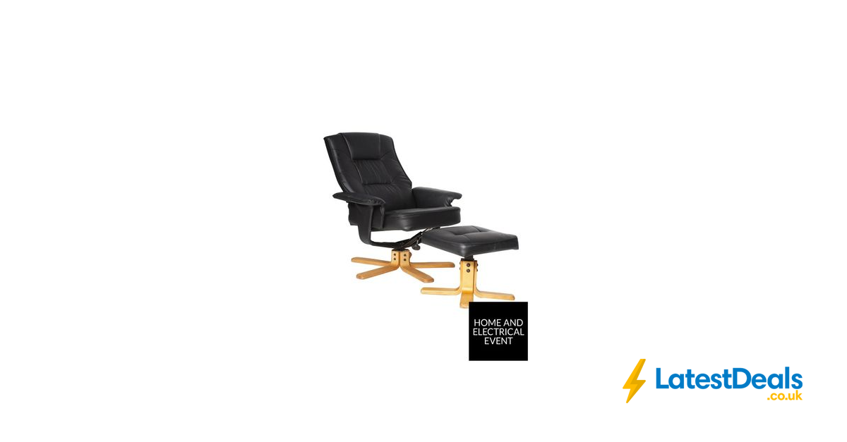 SAVE £20* Alphason Drake Recliner Office Chair with Matching
