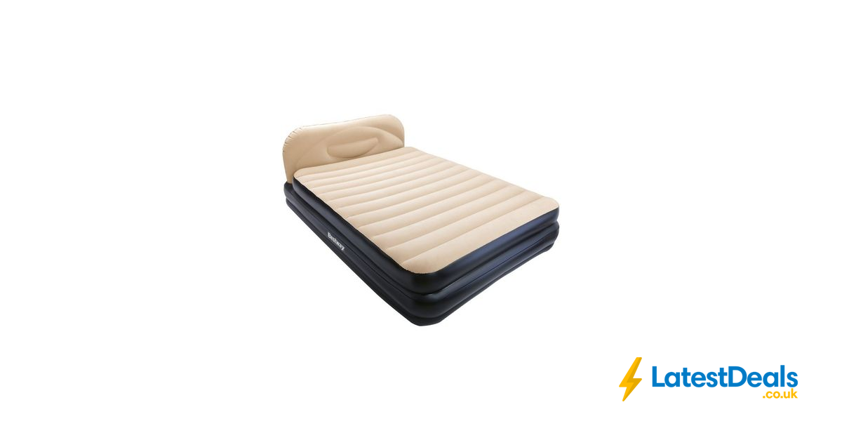 Picture of: Bestway Soft Back Elevated Air Bed King Only 40 At Argos Latestdeals Co Uk