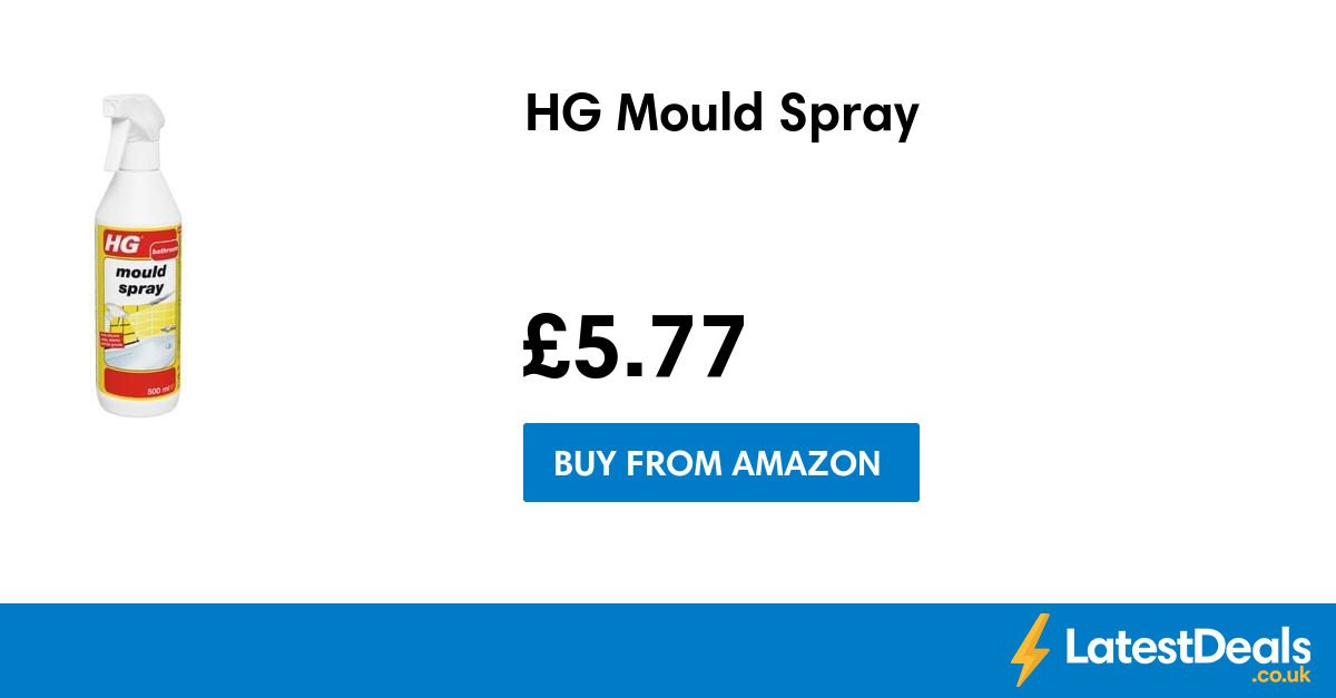 Hg mould spray at amazon uk for H g bathroom mould spray