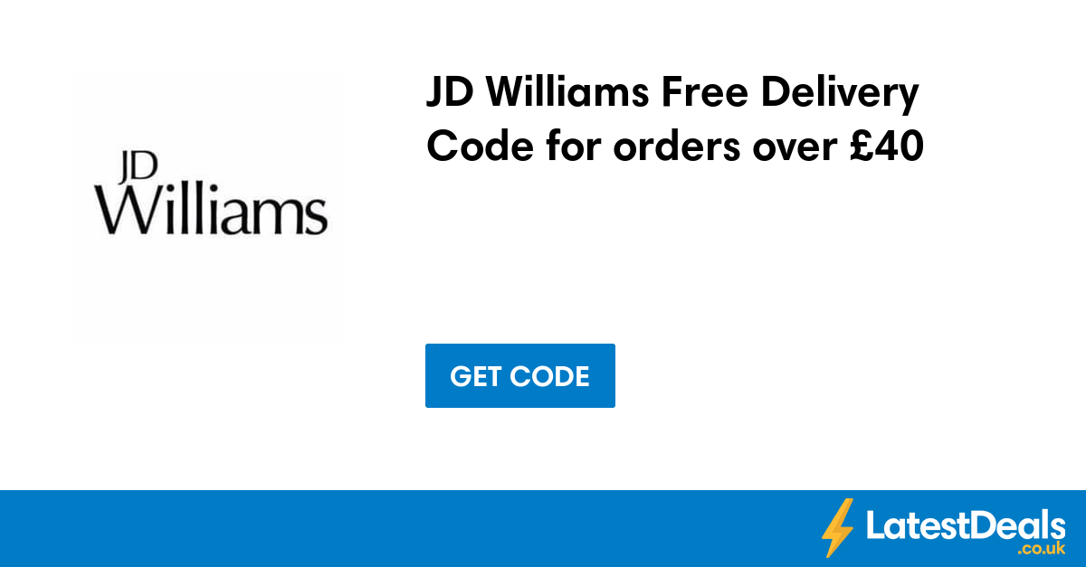 20% Off Orders at JD Williams - Limited Time Save this festive season with JD Williams, for a limited time get yourself 20% off your order with this discount code. used today.