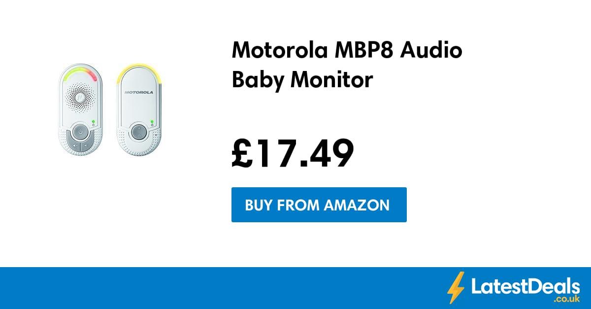 motorola mbp8 audio baby monitor at amazon. Black Bedroom Furniture Sets. Home Design Ideas