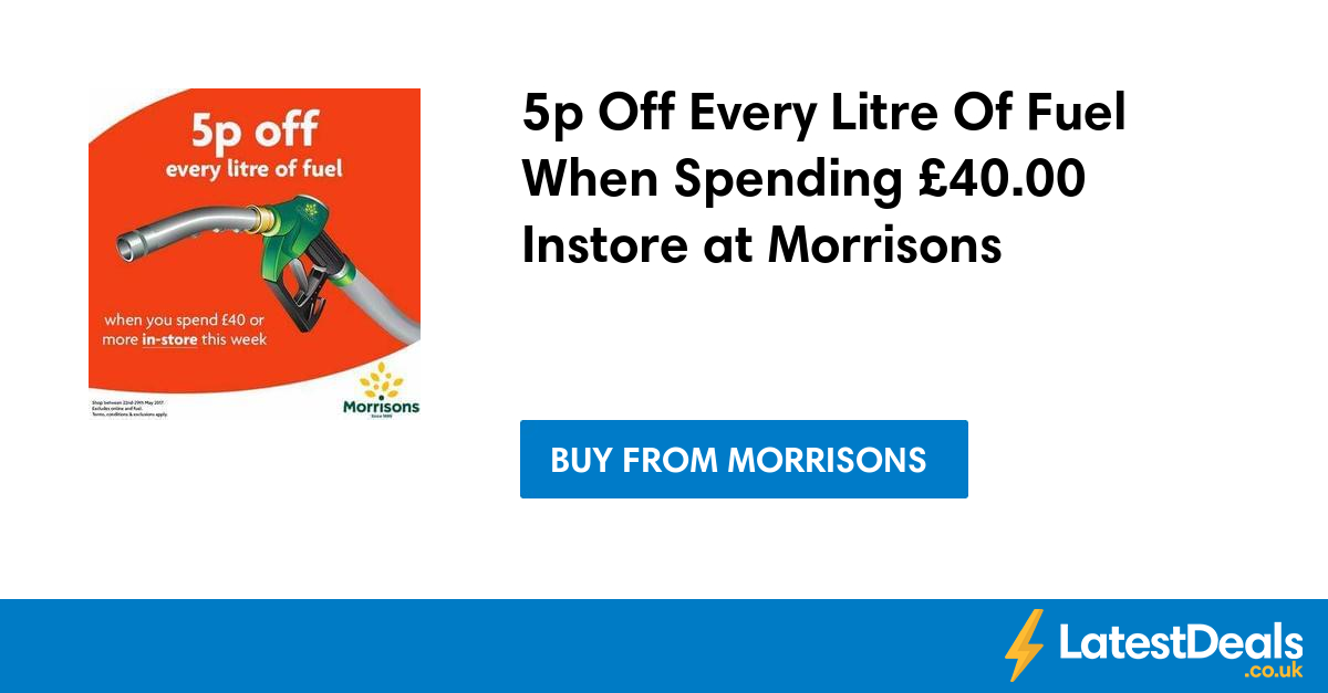 Fuel deals at morrisons : Marineland niagara falls coupons 2018