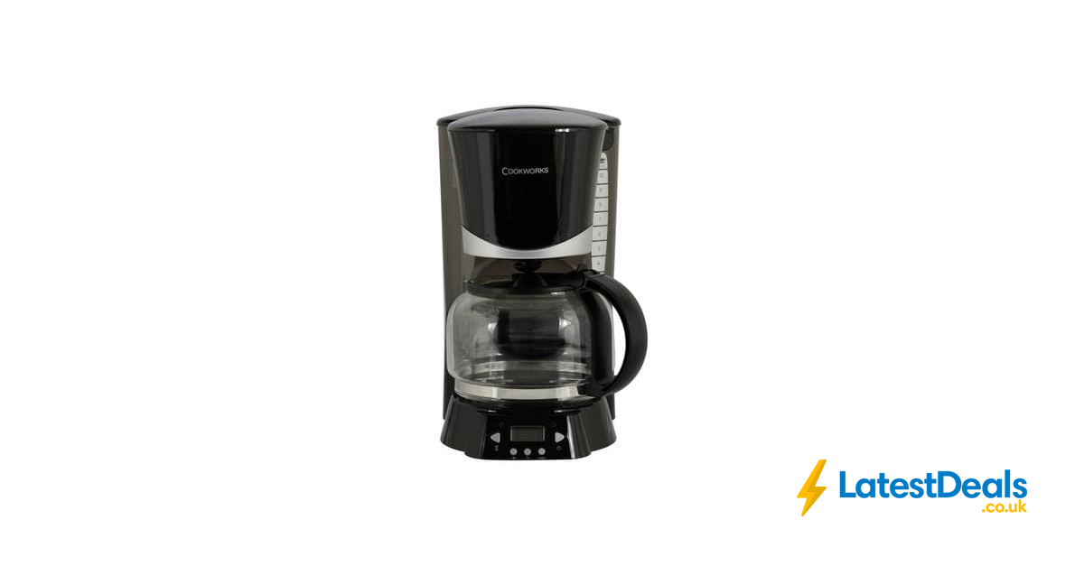 Argos Coffee Maker With Timer : Cookworks Filter Coffee Maker Save ?2 Free C+C, ?14.99 at Argos LatestDeals.co.uk